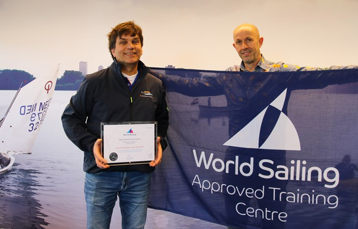 200217 Utrecht Certificaat World Approved Training Centre C. Watersportverbond